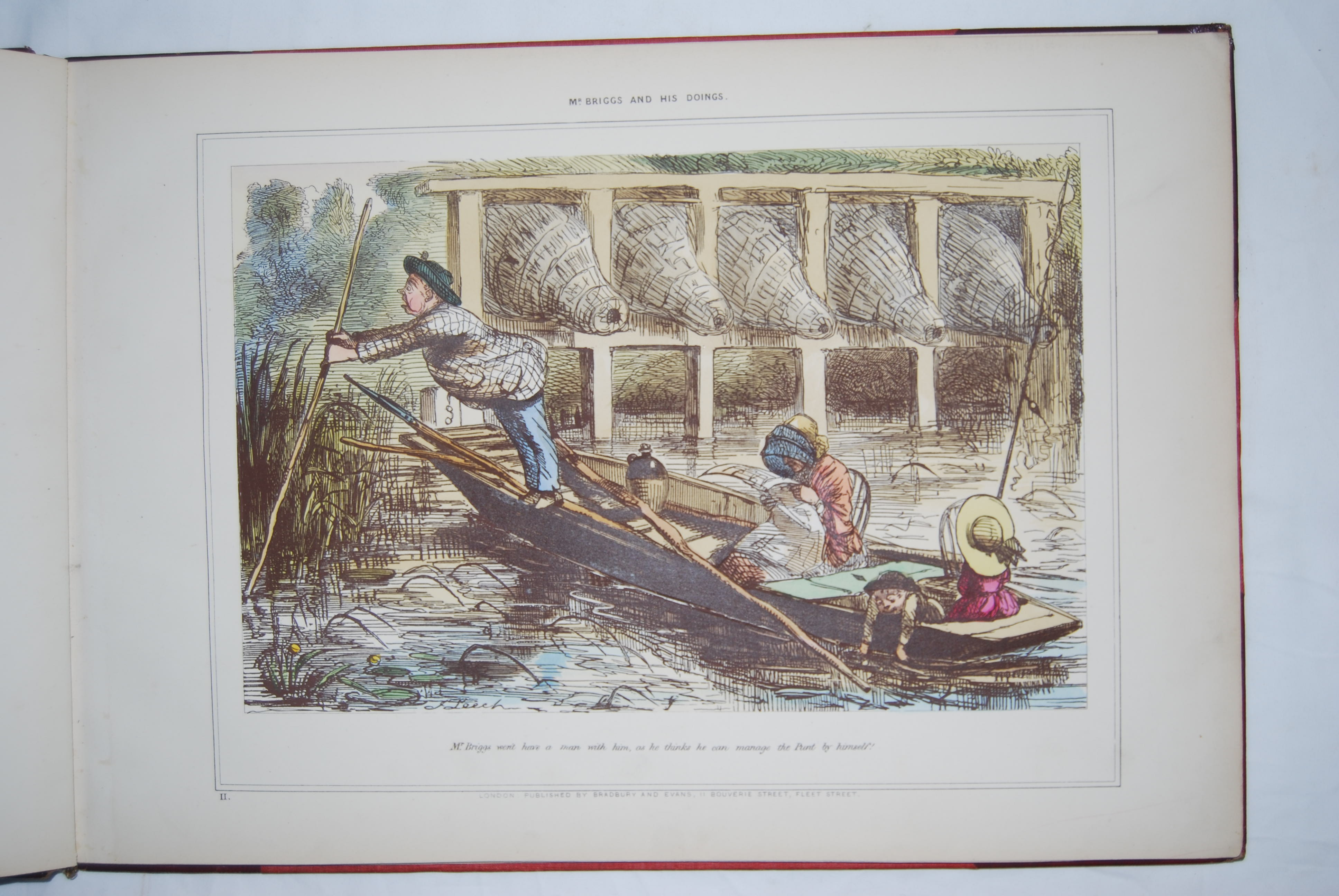 Image for MR. BRIGGS AND HIS DOINGS. [FISHING].