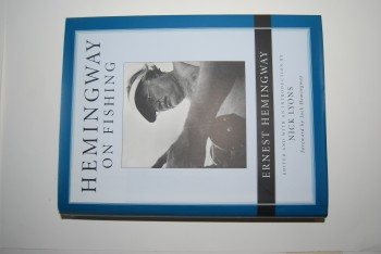 Image for HEMINGWAY ON FISHING. Foreword by Jack Hemingway.