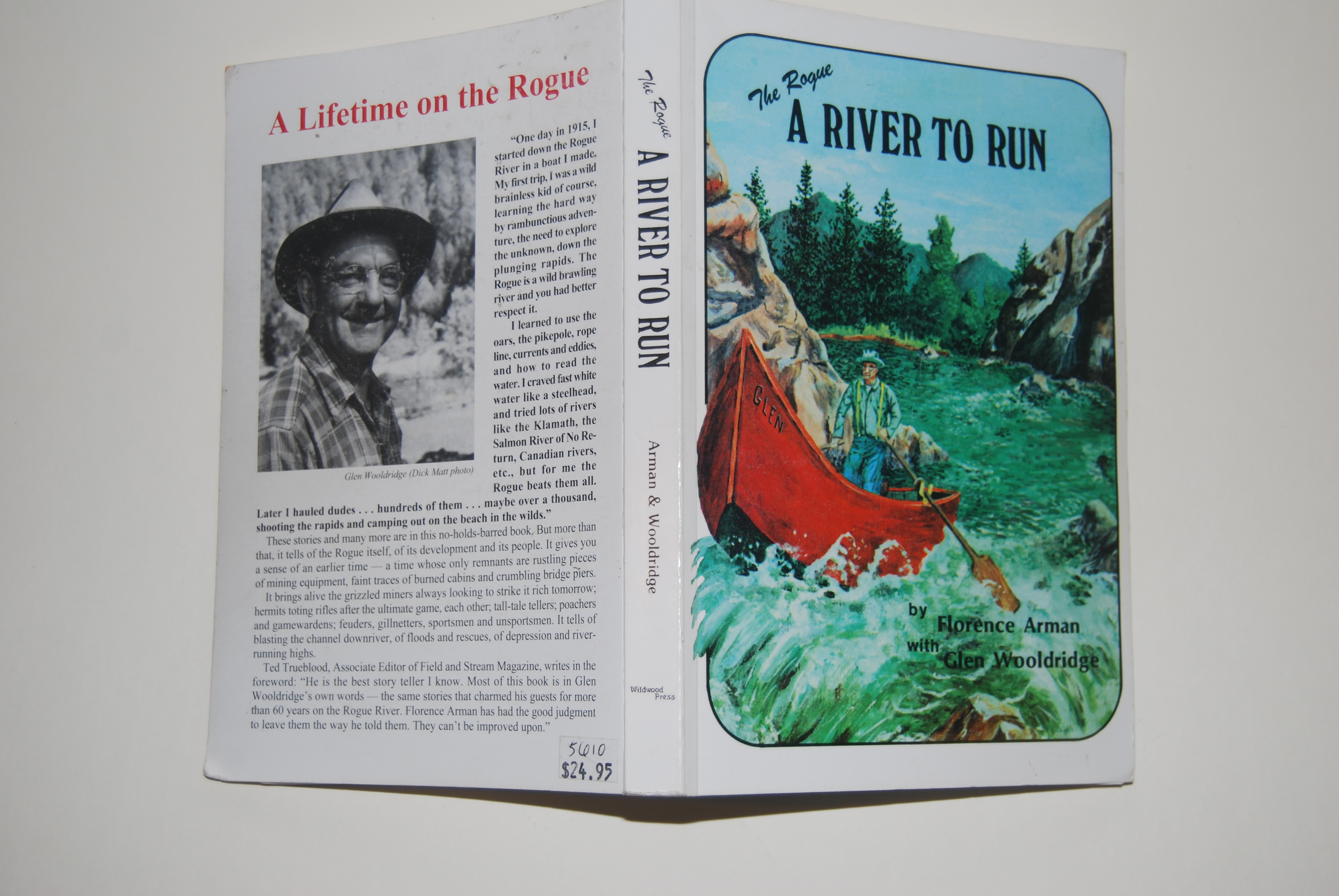 Image for THE ROGUE: A RIVER TO RUN. 8vo illus. ISBN Grants Pass: Wildwood Press. xv + 276 p. 1984 10th Printing.