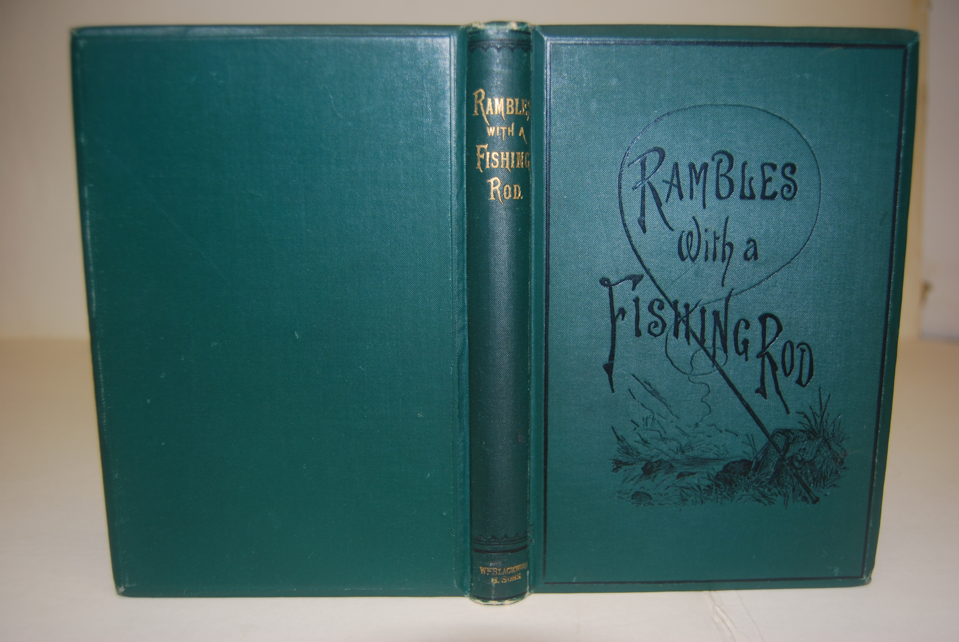 Image for RAMBLES WITH A FISHING-ROD.