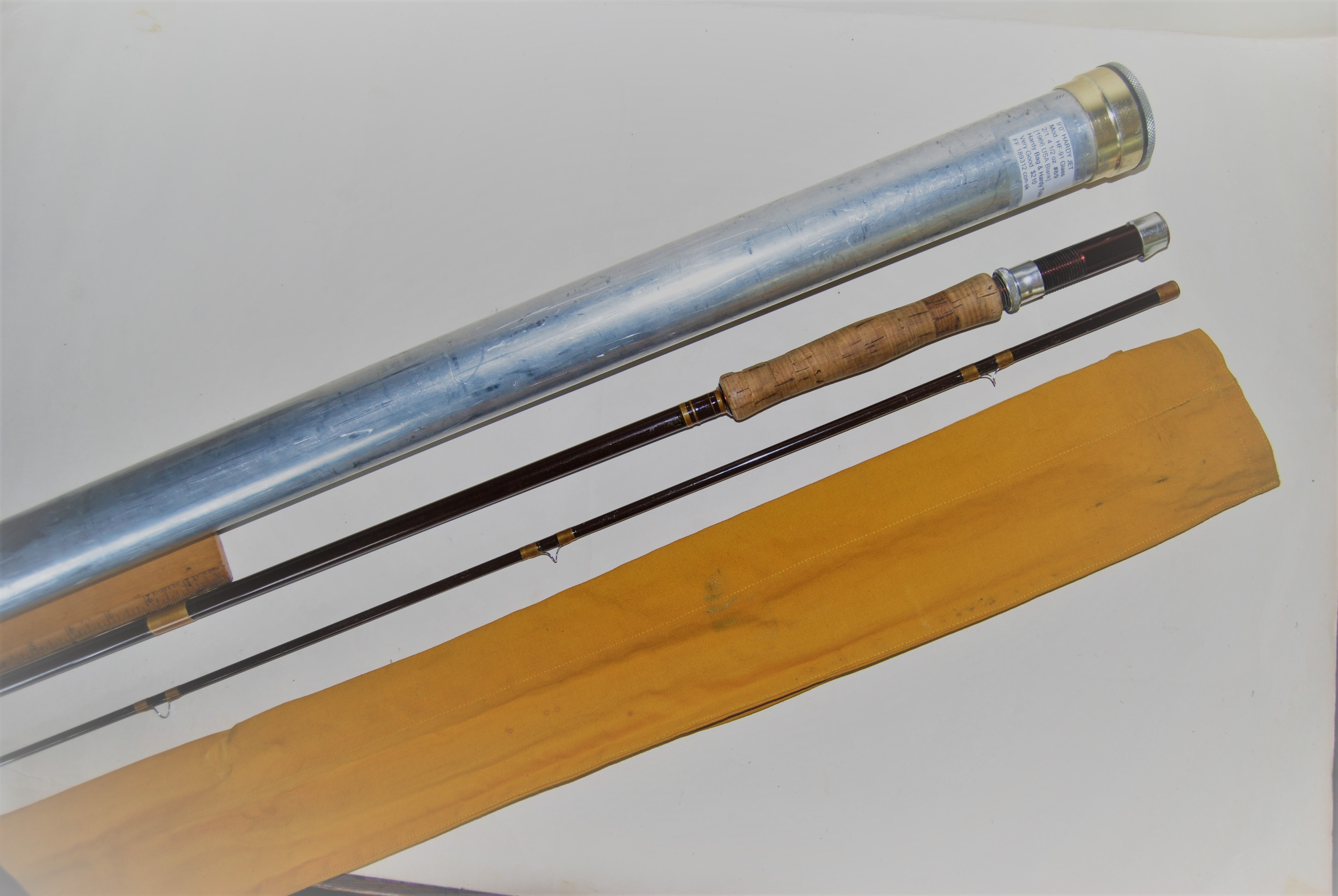 "Image for 9'0"" HARDY JET Mod. HF-91. Glass 2/1. 4 ½ oz. #8/9 line."