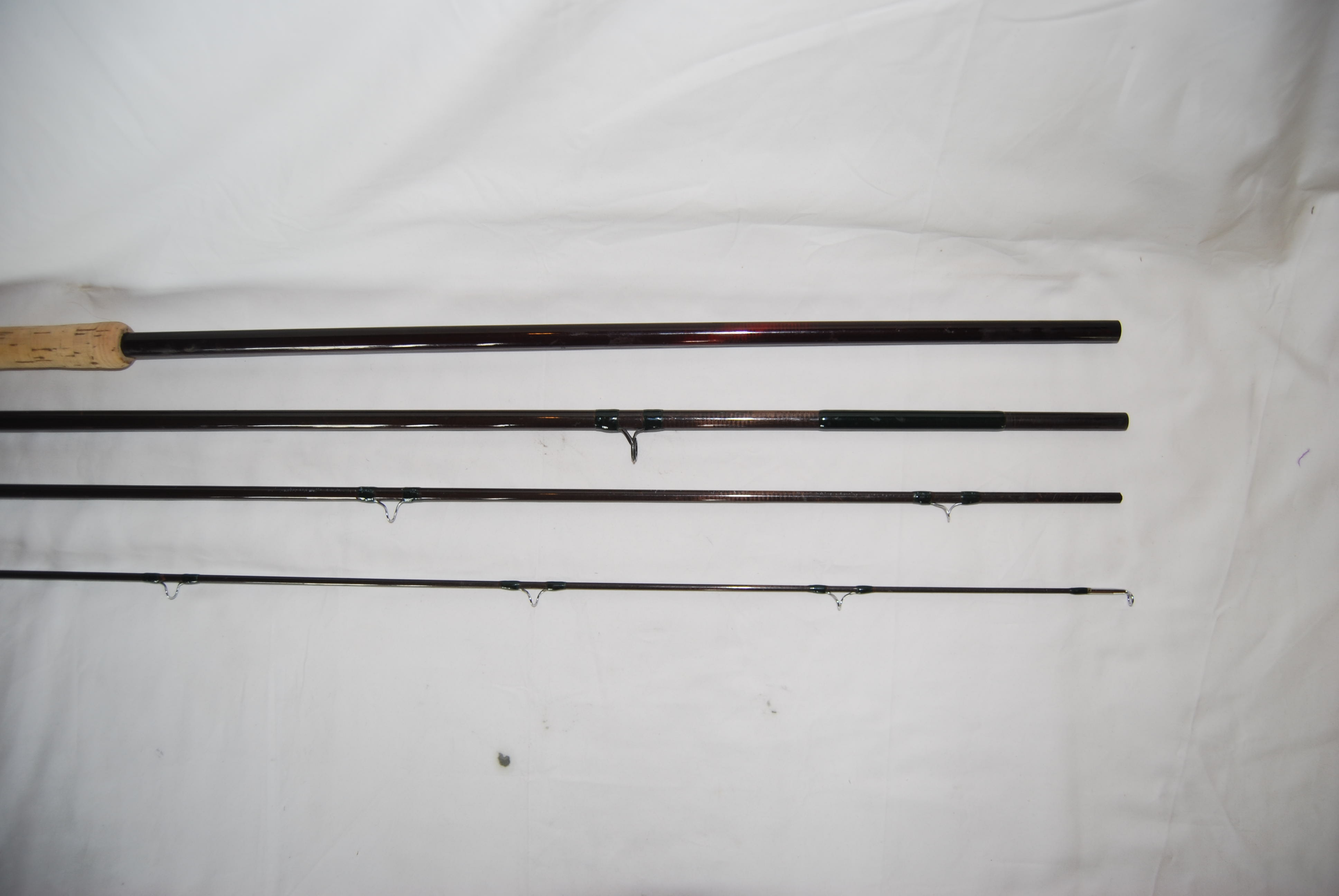 "Image for 15' 1"" UNMARKED [SAGE?]  Kit Graphite 4/1.  10 oz. #10-11 Spey lines."
