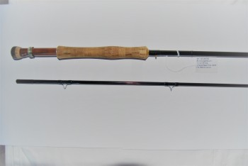 "Image for 9'0"" WOJNICKI #5723 graphite 2/1. 3.3 oz. #7 line. In Cloth bag & alum. Tube marked: ""Fly Rod /by M. Wojnicki."""