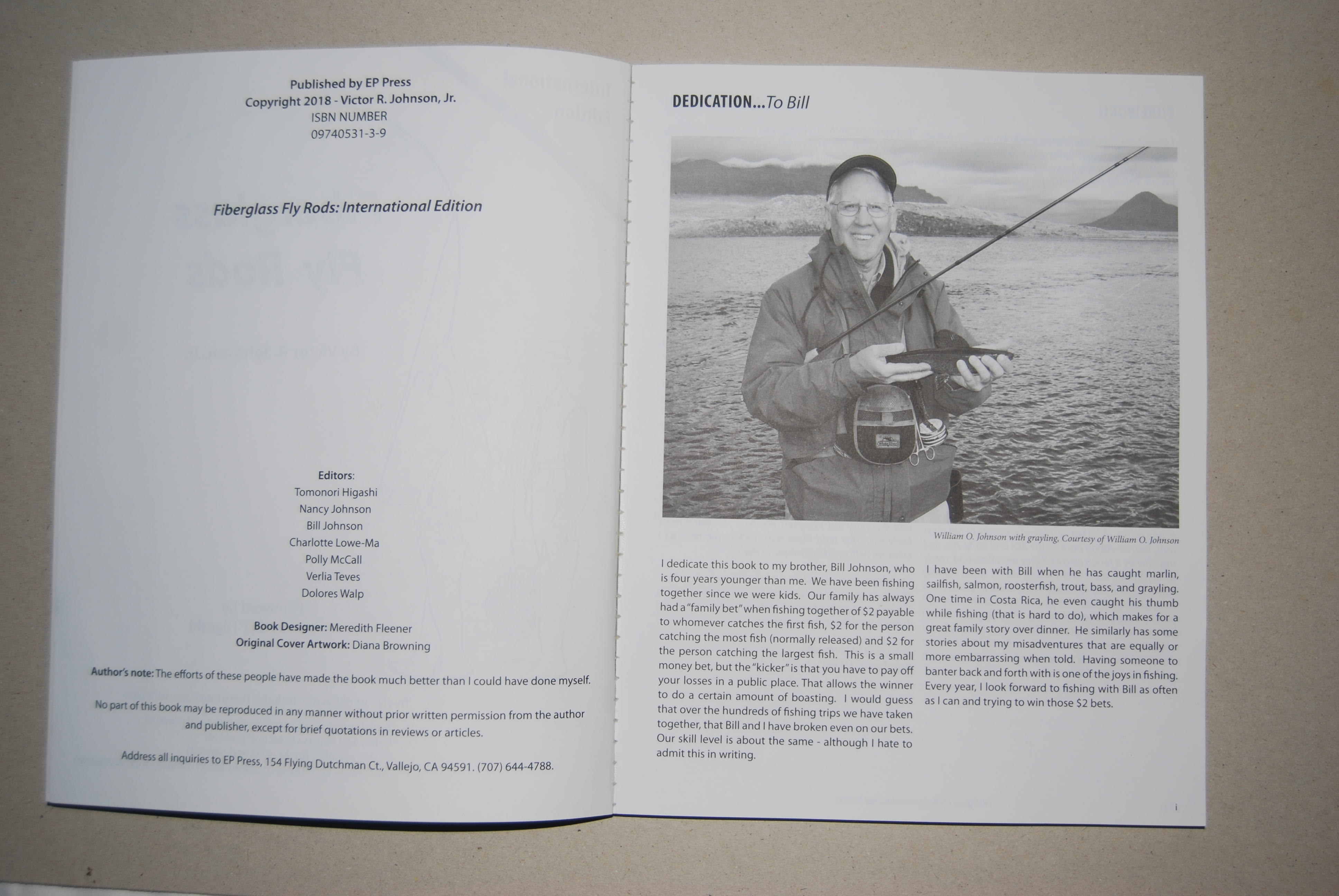 "Image for FIBERGLASS FLY RODS: International Edition. Foreword by Tomonori ""Bill"" Higashi."