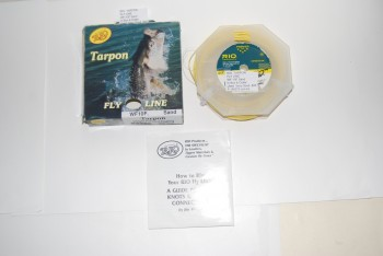 Image for RIO TARPON FLY LINE. WF-10F Sand. Used.