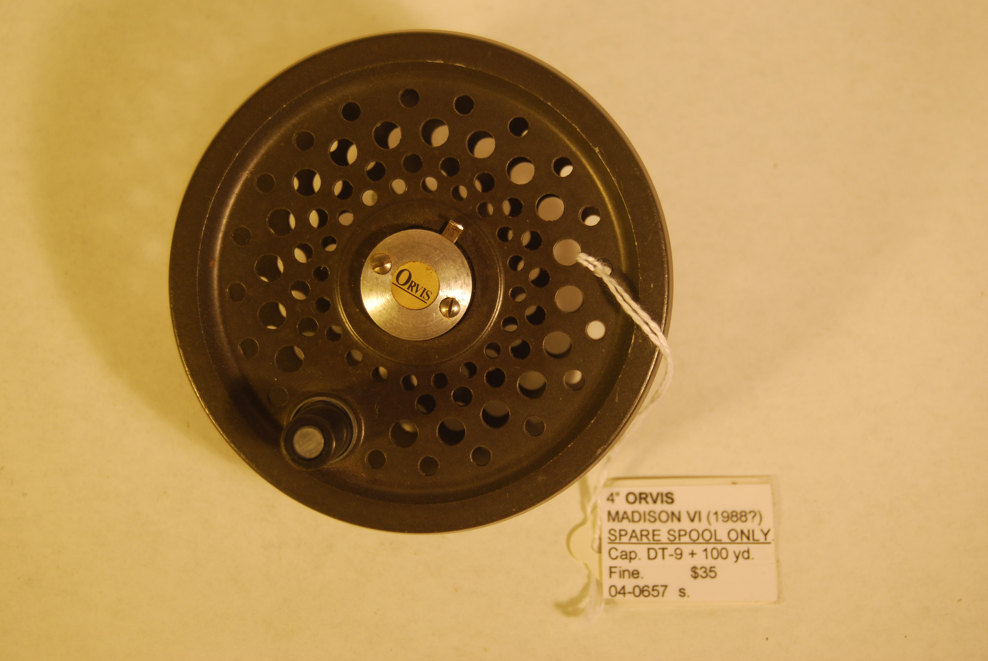"Image for 4"" ORVIS MADISON VI [1988?]  EXTRA SPOOL ."
