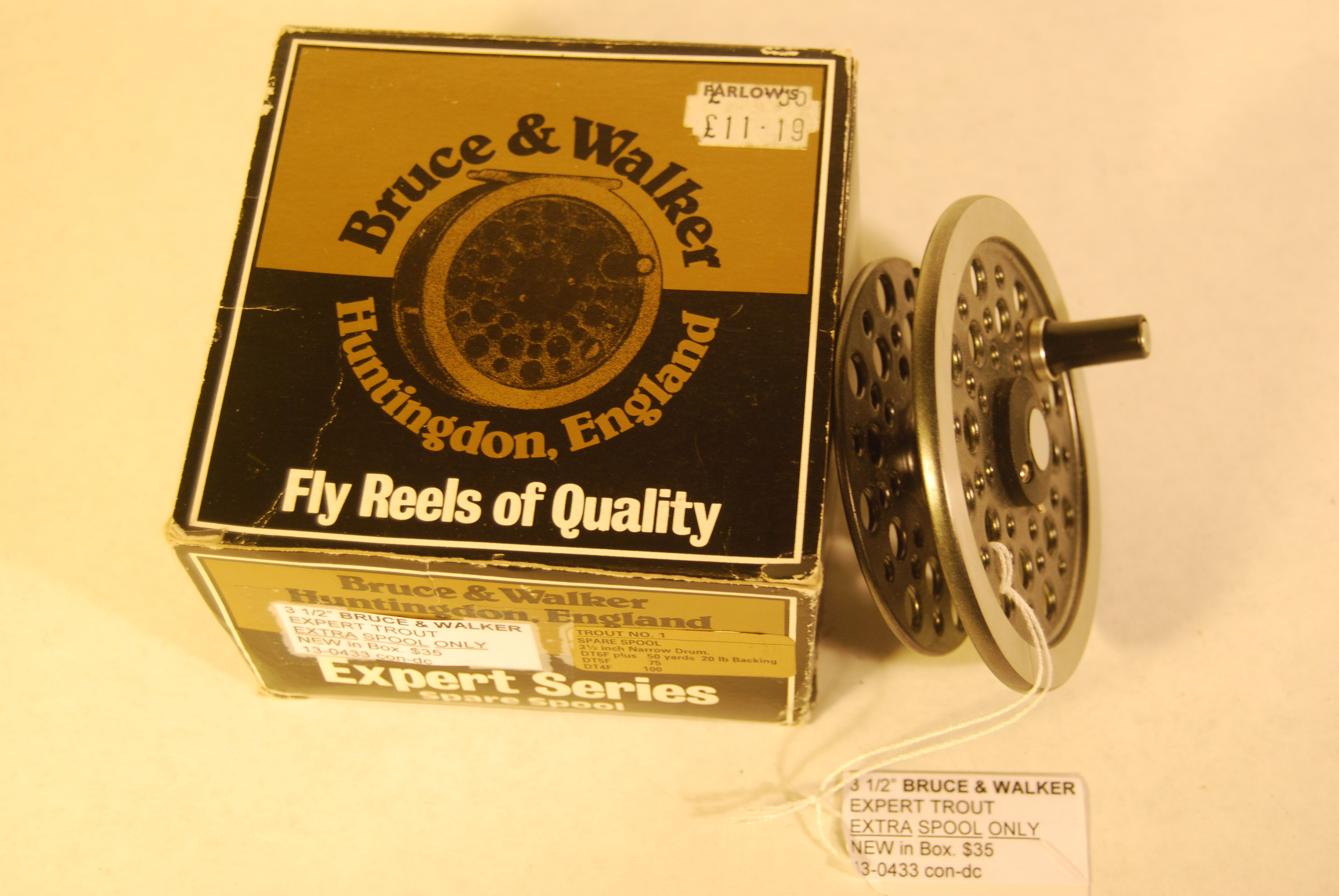 "Image for 3 ½"" BRUCE & WALKER EXPERT Trout No. 1 EXTRA SPOOL ONLY."