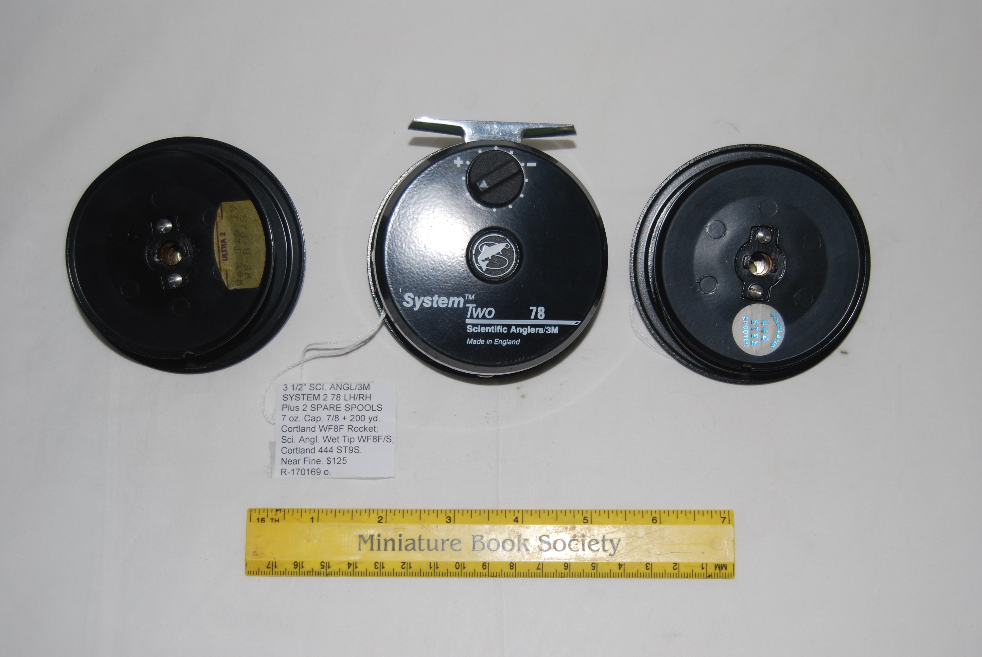 "Image for 3 ½"" SCIENTIFIC ANGLERS/3M SYSTEM TWO 78. With SPARE SPOOL. 7 oz. Cap. 7/8 line + 200 yd. 20# Micron. LH/RH"