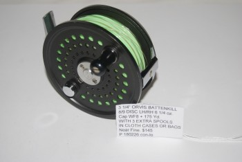 "Image for 3 1/4"" ORVIS BATTENKILL 8/9 DISC. LH/RH. 6 1/4 oz Cap. WF8F + 175 yd. with 2 EXTRA SPOOLS."