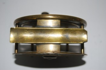 "Image for R 190040. 3 3/4"" ARMY & NAVY CO-OP SOC. LTD. Brass Plate Wind;  RH/LH;  Long smooth brass foot 3 3/8 in.; Fixed Check; 19 oz."
