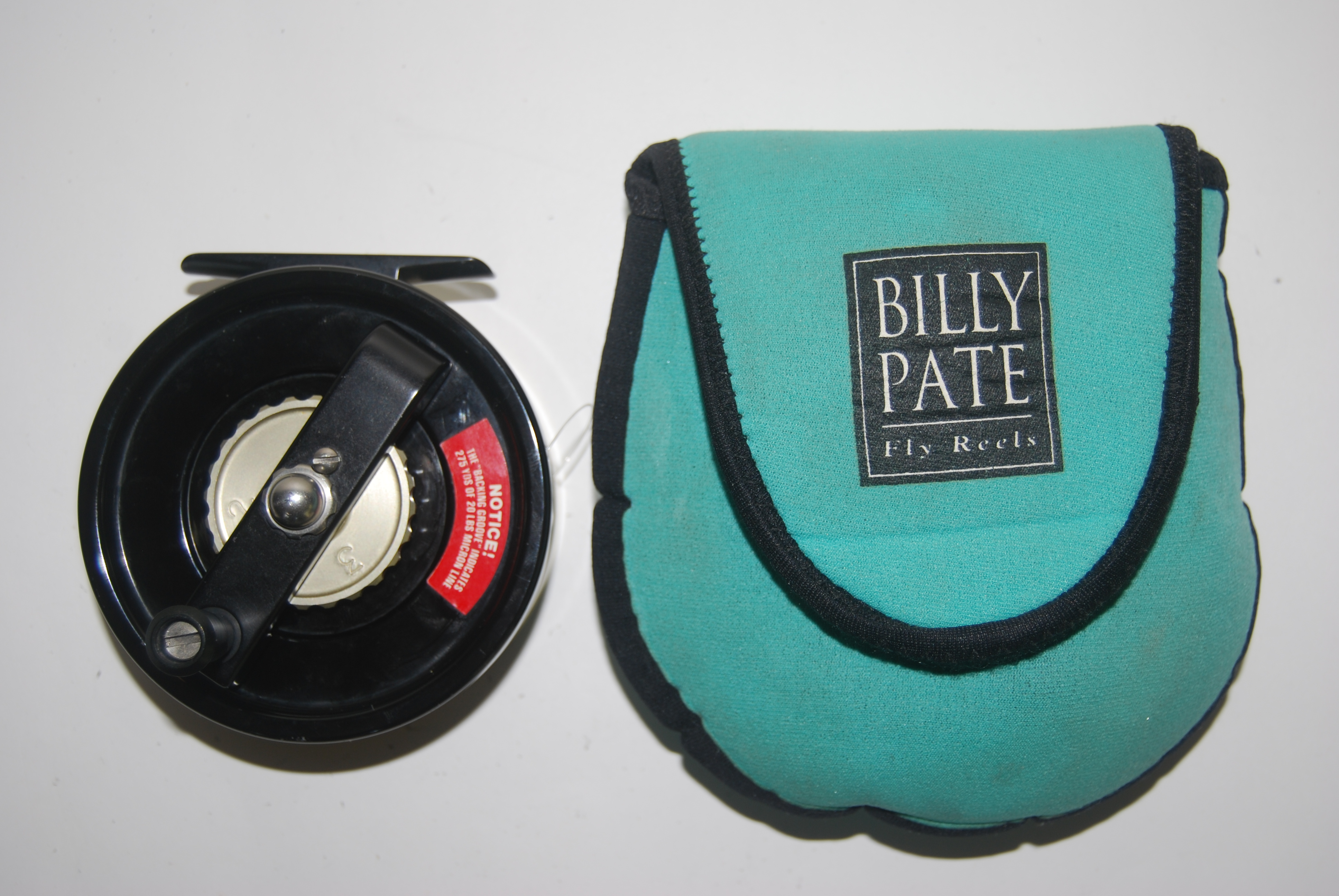 "Image for  3 1/2"" PATE BONEFISH AR RH/LH. 8.2 oz. Cap. WF9F + 275 yd. 20# Micron. Billy Pate Neoprene Pouch."